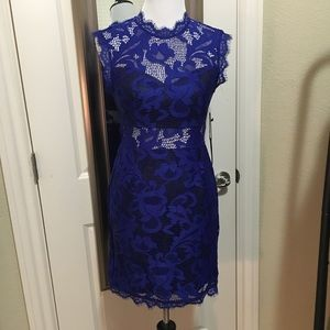 Forever 21 Lace Overlay Dress